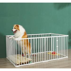 サークルケージ 犬用 ペットサークル 小型 ドア付き DIY 脱走防止柵 屋外 ペット柵 室内 ペットフェンス ドッ|diamod-snap987
