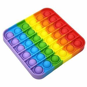 スクイーズ玩具 減圧グッズ フィジェットおもちゃ プッシュポップポップ バブル感覚 ストレス解消 自閉症特|diamod-snap987