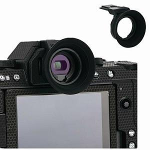 アイカップ 接眼目当て 接眼レンズ 延長型 富士フイルム Fujifilm Fuji X-S10 XS10 X-T200 XT200 対応 ホットシュー装着|diamod-snap987