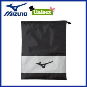 野球 シューズ袋 一般用 ミズノ MIZUNO ブラック|diamond-sports
