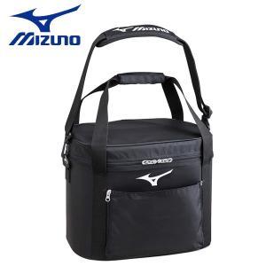 野球 MIZUNO 【ミズノ】 ボールケース 軟式・硬式5ダース、ソフト(3号球)2ダース入れ -ブラック-|diamond-sports