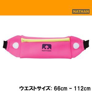 ランニング ポーチ 携帯入れ GEL入れ 小銭入れ 特価品 ネイサン NATHAN MINI 5K BELT(F.FUCH/I.PPL) rn-50|diamond-sports