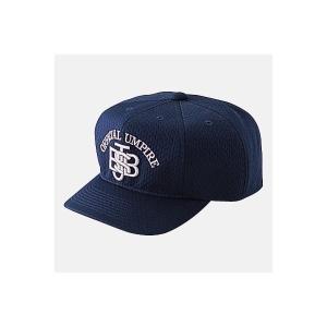 MIZUNO ミズノ  球審用帽子八方 軟式審判員用 -ネイビー-|diamond-sports