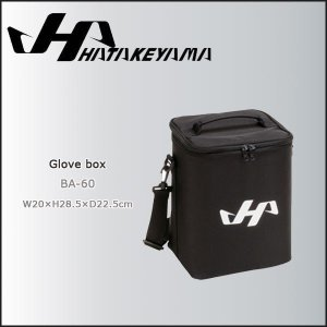 HATAKEYAMA【ハタケヤマ】 グラブボックス 1個入れ用 -ブラック-|diamond-sports