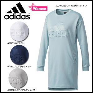 スポーツウェア アディダス adidas レディース 定番 デボス スウェット ワンピース|diamond-sports