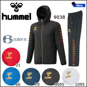トレーニングウェア スポーツカジュアル パーカー ヒュンメル hummel UT-クロスアップフーデッドジャケット&パンツ メンズ|diamond-sports