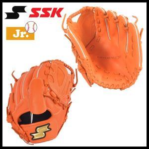 野球 SSK エスエスケイ 少年軟式グラブ グローブ ジュニア プロエッジ オールラウンド 右投げ用 オレンジ L diamond-sports