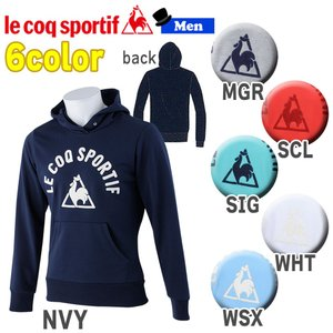 トレーニングウェア スポーツカジュアル ルコックスポルティフ le coq sportif フーデッドスウェットパーカー メンズ 一般|diamond-sports
