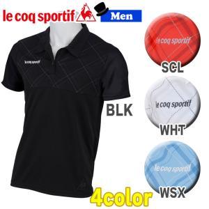トレーニングウェア スポーツカジュアル ルコックスポルティフ le coq sportif 襟付き半袖シャツ  メンズ 一般|diamond-sports