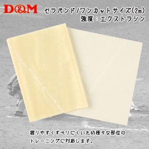 D&M ディーアンドエム  セラバンド ワンカットサイズ 2m タン|diamond-sports