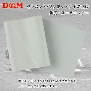 D&M ディーアンドエム  セラバンド ワンカットサイズ 2m シルバー|diamond-sports