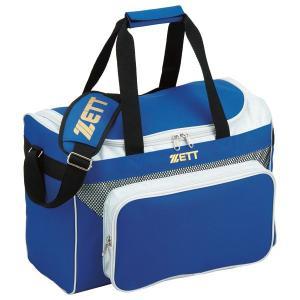 ZETT(ゼット) セカンドバッグBA574Rブルー/シルバー (z-ba574-2513)|diamond-sports