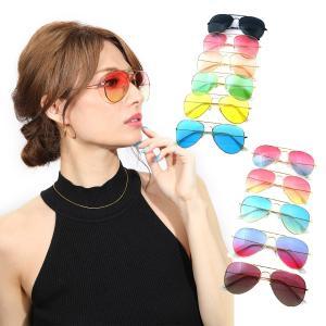 サングラス メンズ レディース ブランド スモーク ブルー レッド グリーン ブラウン カラー レンズ おしゃれ 紫外線カット 7JEWELRY ティアドロップ サングラス|diamonddust