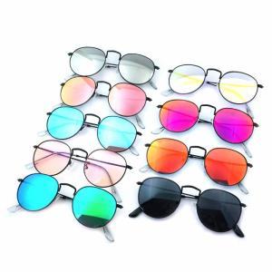 サングラス メンズ レディース ブランド スモーク ブルー パープル シルバー ミラー カラー レンズ おしゃれ 紫外線カット 7JEWELRY ティアドロップ サングラス|diamonddust