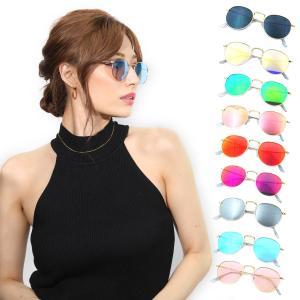 サングラス メンズ レディース ブランド スモーク ブルー ゴールド パープル ミラー カラー レンズ おしゃれ 紫外線カット 7JEWELRY ティアドロップ サングラス|diamonddust