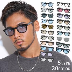 サングラス メンズ レディース ブランド カラー ブルー ブラウン グレー レンズ UVカット スポ...