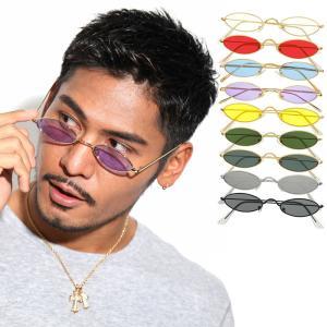 人気 メンズ ブランド 7JEWELRY オーバル サングラス ブラック スモーク レッド パープル クリア レンズ UVカット|diamonddust