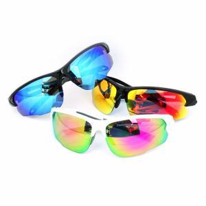 人気 メンズ ブランド 7JEWELRY スポーツ サングラス レッド ブルー ピンク ミラー レンズ 紫外線カット UVカット|diamonddust