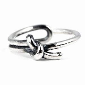 指輪 メンズ レディース ブランド 7JEWELRY ノット リング フリーサイズ 12号-20号調整可能 シルバー 925|diamonddust