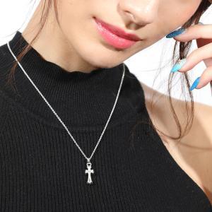 人気ブランドblack dia(ブラックダイヤ)ダズルクロスネックレス。 シルバー925を使用し品質...