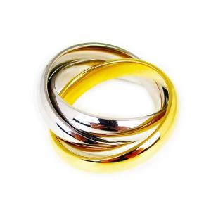 人気 メンズ レディース ブランド blackdia 3連 フープ リング ゴールド シルバー 金 銀 指輪 トリニティリング|diamonddust