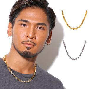 ネックレス メンズ レディース ブランド ゴールド SBG ミディアム チェーン ネックレス 53cm|diamonddust