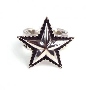 SBG 銀 シンプル スター リング 指輪 星 インディアンジュエリー 人気 ブランド|diamonddust