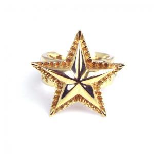 指輪 メンズ ブランド フリーサイズ インディアン ジュエリー SBG 金 シンプル スター リング ゴールド|diamonddust