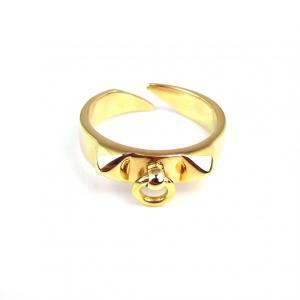 指輪 メンズ  ユニセックス ブランド SBG ゴールド フープ付き スタッズ リング 金 指輪|diamonddust