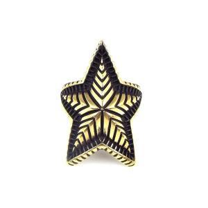 人気 メンズ ブランド SBG ビッグ スター リング ゴールド 金 星 指輪 インディアンジュエリー|diamonddust