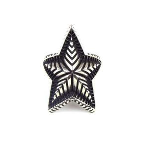 指輪 メンズ  ブランド フリーサイズ インディアン ジュエリー SBG 銀 ビッグ スター リング シルバー|diamonddust