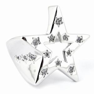 SBG スター ミリアド ジルコニア リング 指輪 星 銀 シルバー 人気 ブランド|diamonddust
