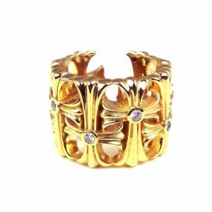 人気 メンズ ブランド SBG ジルコニア クロス セメタリーリング フリーサイズ 金 銀 十字架 指輪 三代目 今市隆二|diamonddust