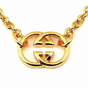 人気ブランドSBG(エスビージー)18KGPゴールドエンブレムネックレス。きれいめファッション、スト...