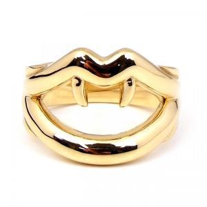 人気 メンズ レディース ブランド SBG リップ リング 金 銀 唇 指輪|diamonddust