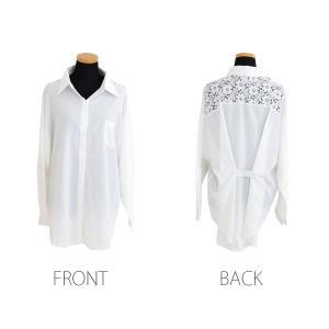 花柄レース刺繍シャツ シャツ ブラウス トップス レディース レース 刺繍 ゆったり 長袖 diamondhearts 12