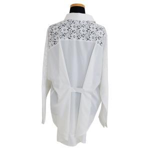 花柄レース刺繍シャツ シャツ ブラウス トップス レディース レース 刺繍 ゆったり 長袖 diamondhearts 16