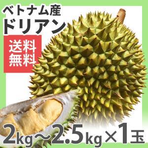 ドリアン ベトナム産 1玉 2kg〜2.5kg 生鮮 フレッシュ 果物