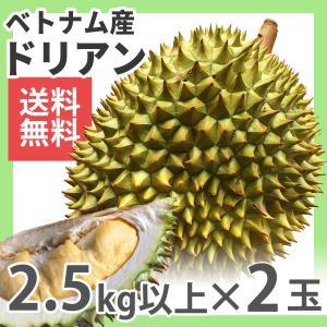 ドリアン ベトナム産 2玉 約3kg 生鮮 フレッシュ 果物