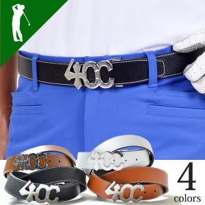 ベルト メンズ ゴルフ バックル おしゃれ ゴルフベルト 新品 4CC-BT161|diana