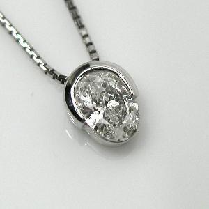 東京宝石科学アカデミー 鑑定書付PTダイヤモンドPDN1.024ct   H-I1 diaw