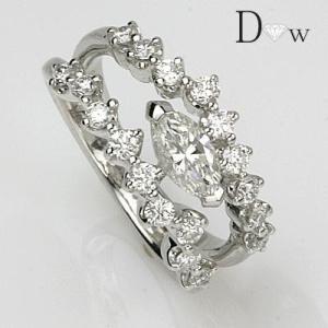東京宝石科学アカデミー 鑑定書付PTダイヤモンドリング0.505ct 0.660ct|diaw