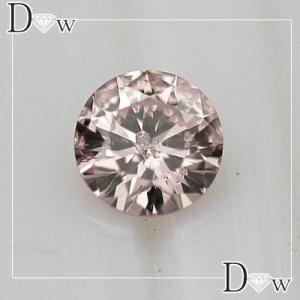 全国宝石学協会鑑定書付 ピンクダイヤモンド 0.124ct|diaw