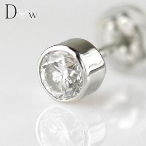 PTダイヤモンド メンズピアス0.3ct D-VVS1-EX 最高級品|diaw