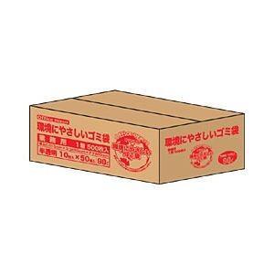 オンラインショッピング 全品送料無料 〔業務用パック〕オリジナルゴミ袋 半透明 90L 600枚 1箱