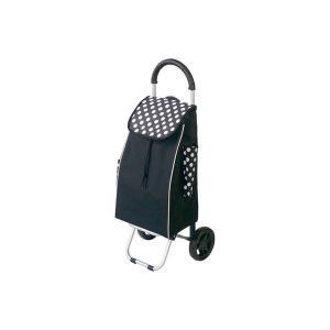 業務用セット RQショッピングカートC101 半額 RQC-C101DD〔×3セット〕 ドット黒 無料サンプルOK