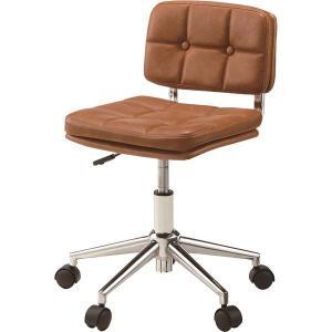 2脚セット 東谷 デスクチェア 椅子 昇降機能付き ソフトレザー スチール 国内送料無料 新着 ブラウン RKC-301BR 合皮