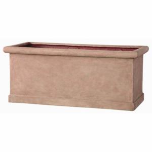 軽量植木鉢 プランター 〔テラコッタ 完売 幅80cm〕 CLタブプランター ファイバー製 豊富な品 穴有