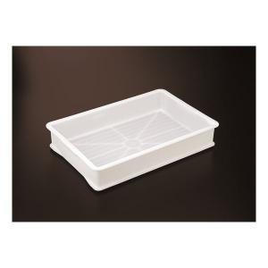 〔10個セット〕 抗菌 評価 メーカー公式 食品用コンテナー ナチュラル〔代引不可〕 パンコンテナー 〔小型深〕