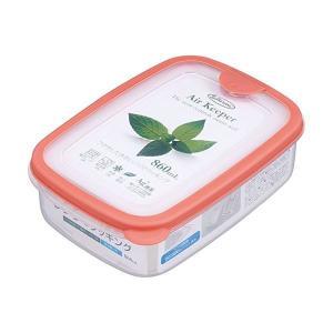 まとめ エアキーパー フードケース 保存容器 〔ソフトオレンジ 〔×60個セット〕 Mサイズ 860ml〕 [再販ご予約限定送料無料] ブランド買うならブランドオフ 抗菌効果 食洗機可